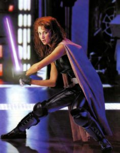 Mara Jade in Action Pose