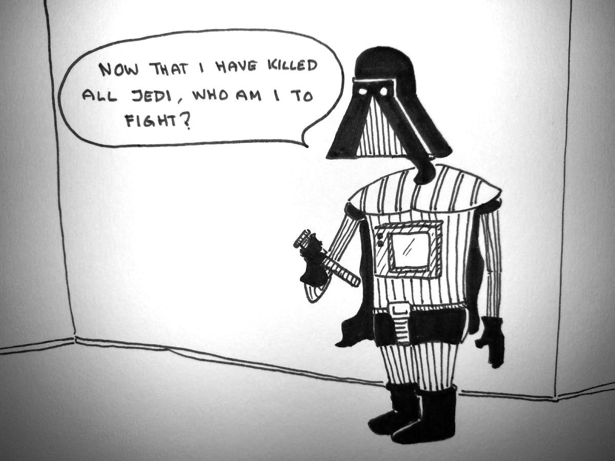 Vader Ponders