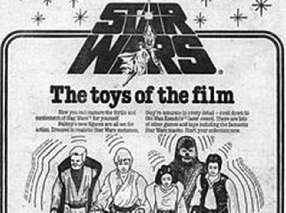 Palitoy Toy of the film ad