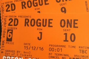 Rogue one tickets 2D