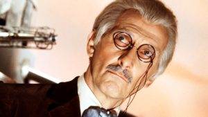 Peter Cushing as Dr Who