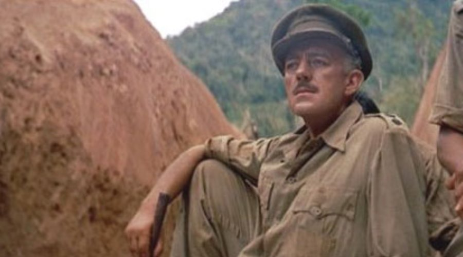 Alex Guiness looking pensive-River-Kwai-1957