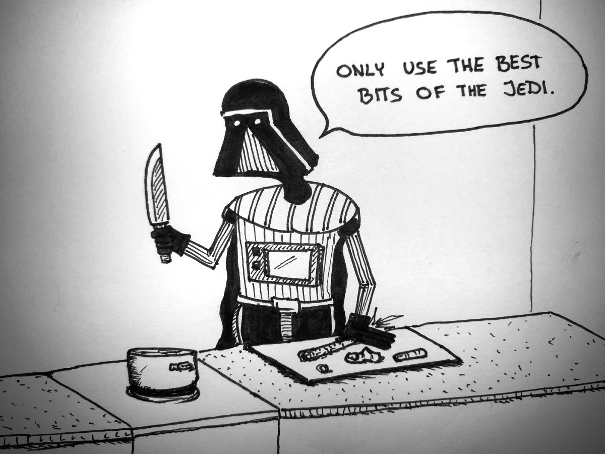 An Old Sith Cooking Tip cooking jedi