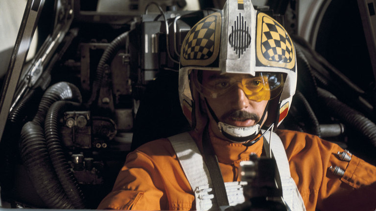 Biggs as x-wing pilot