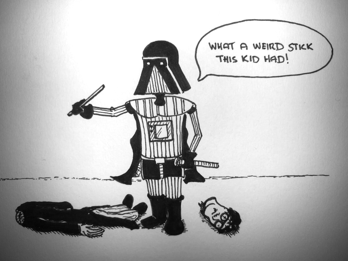 Vader Beheads Harry