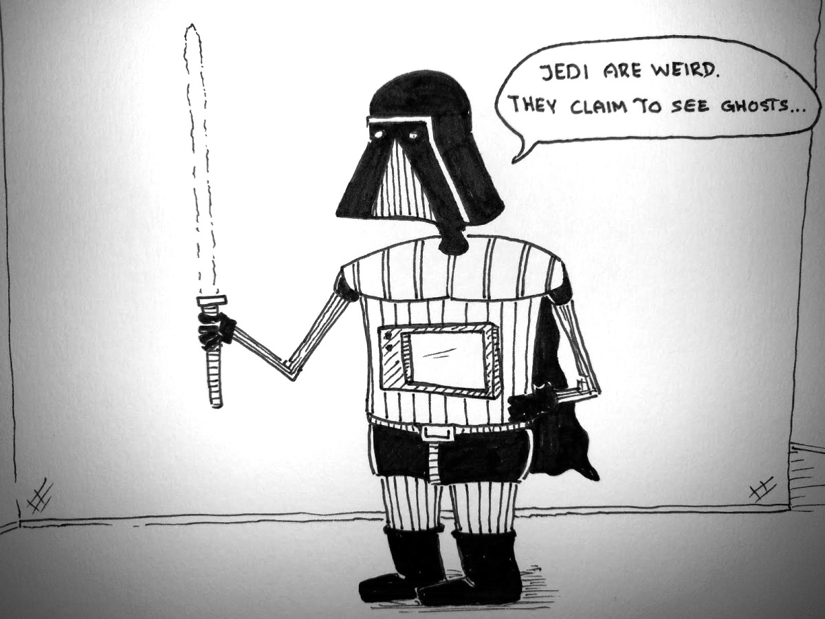 Vader think about being jedi