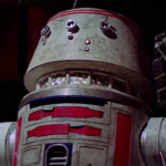 "R5-D4 aka ""Red"" – Who in the Galaxy is That? – by Pariah Burke"