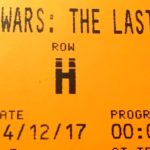 Cinema ticket TLJ