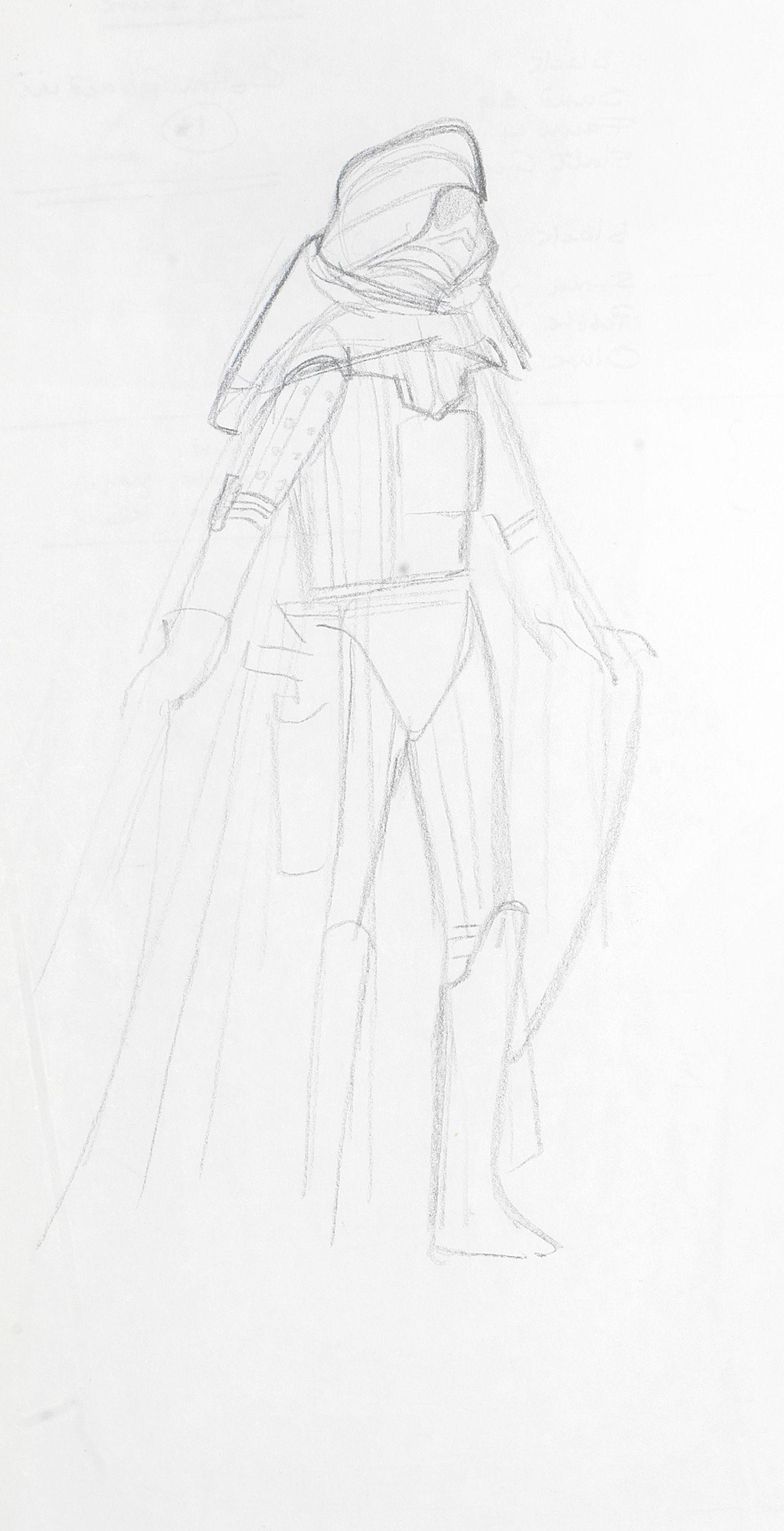 Sketch of Vader