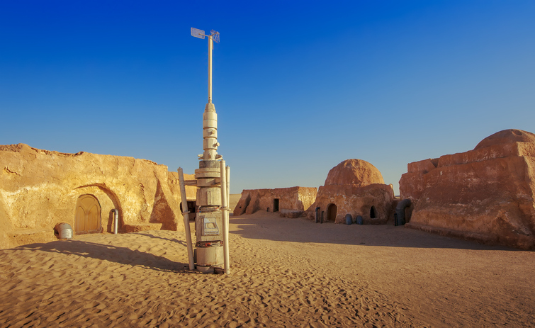 star war set in tunisia
